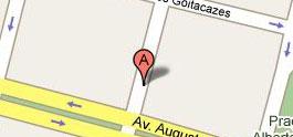 Mapa Rua Espirito Santo